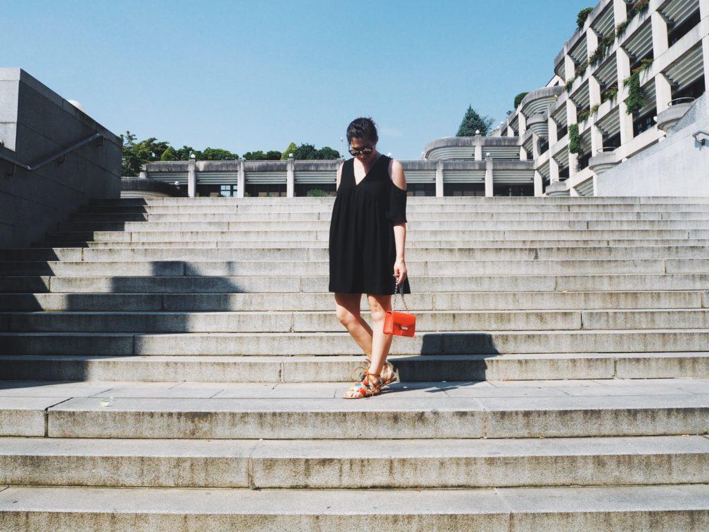 #Outfit: DIY PomPom Sandalen