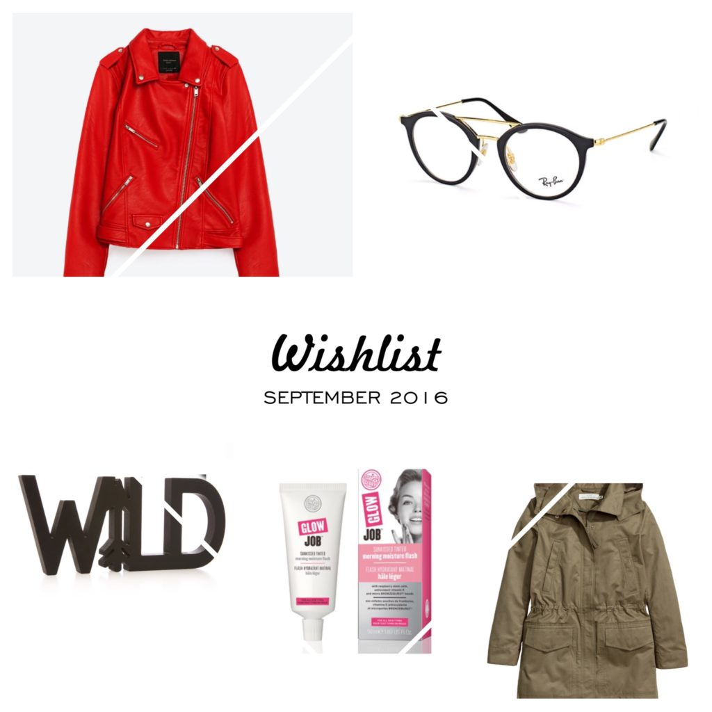 #Wishlist – September 2016
