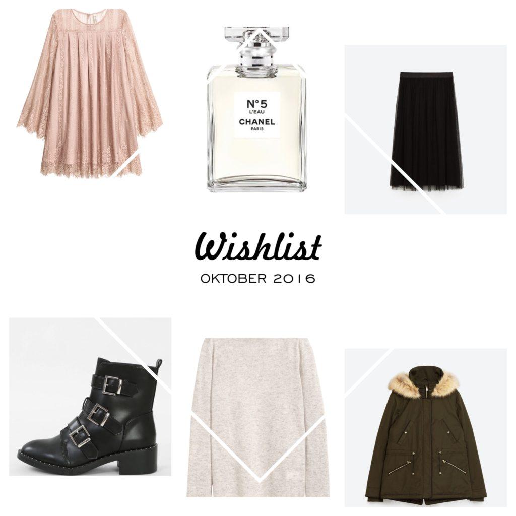 #Wishlist – Oktober 2016 inklusive Must-Haves für diesen Herbst