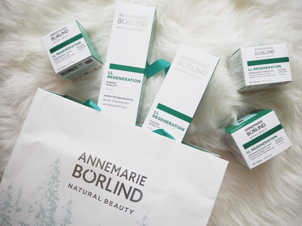 Annemarie Börlind Naturkosmetik – LL Regeneration Systempflegeserie