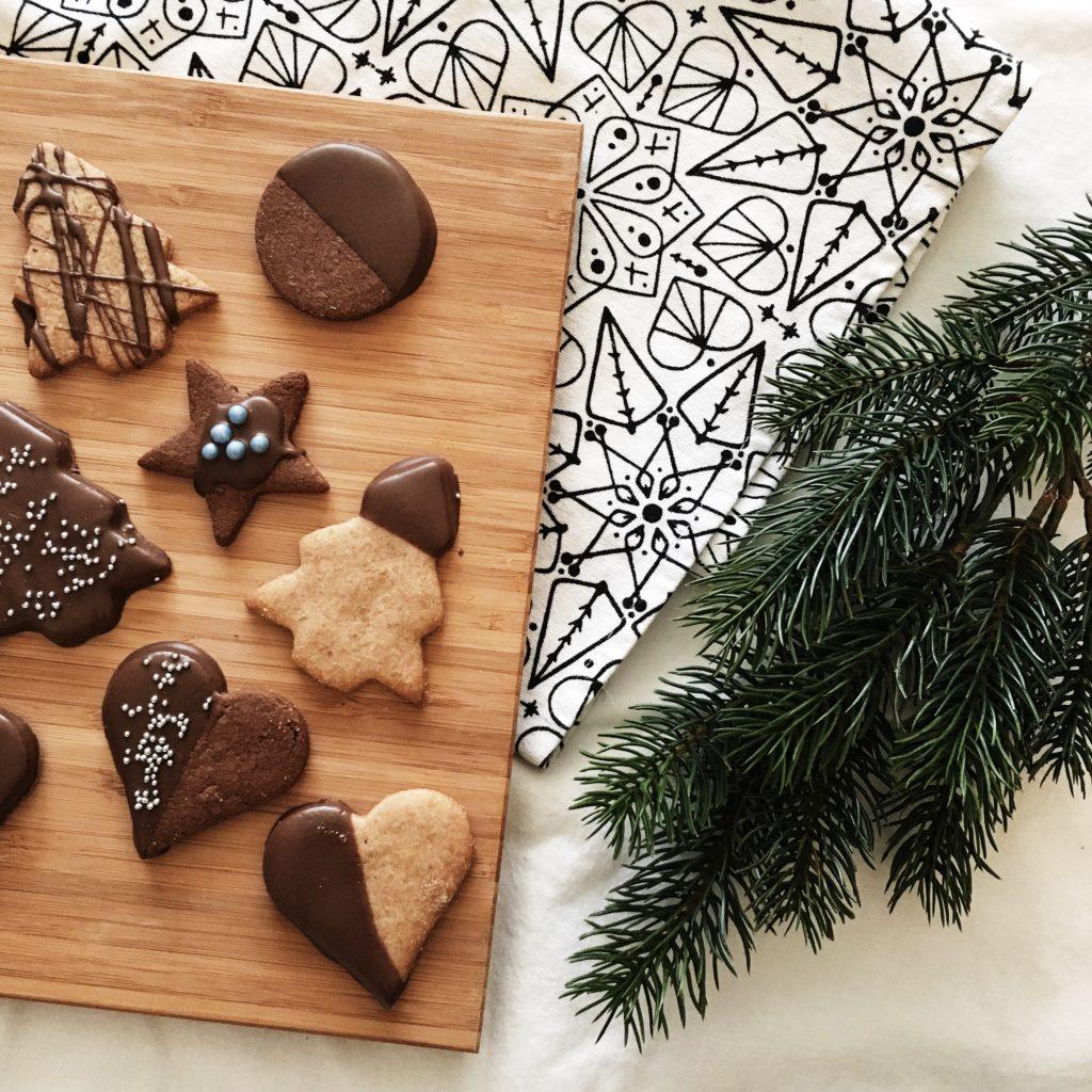 #Weihnachtsbäckerei: einfache Mürbteigkekse zu Weihnachten