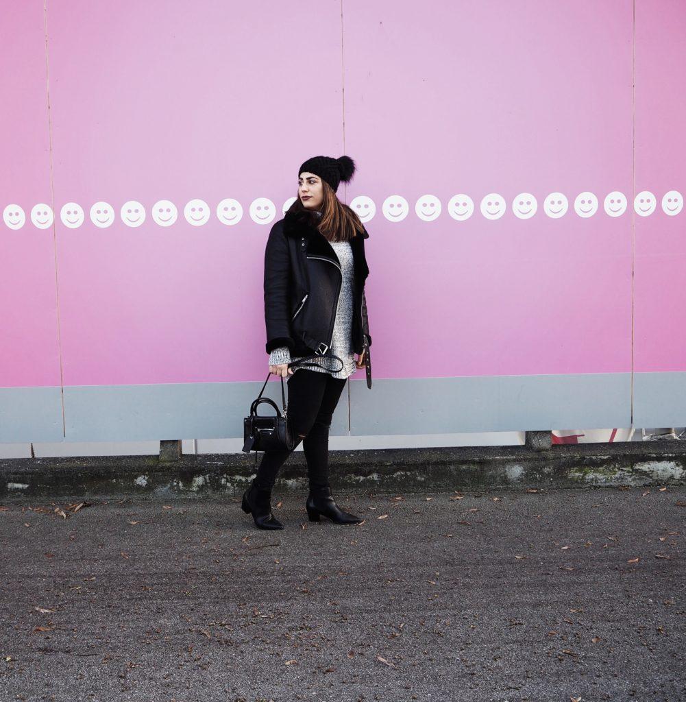 #Outfit: Shearling Jacke – Das Trendteil der Saison