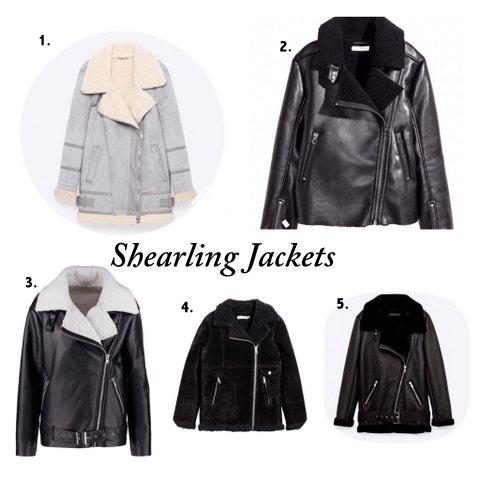 Shearling Jacke - Das Trendteil der Saison