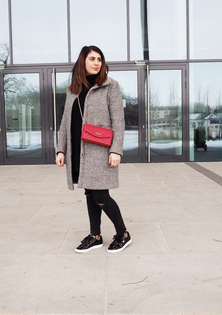#Outfit: Puma Basket Heart Patent Sneaker