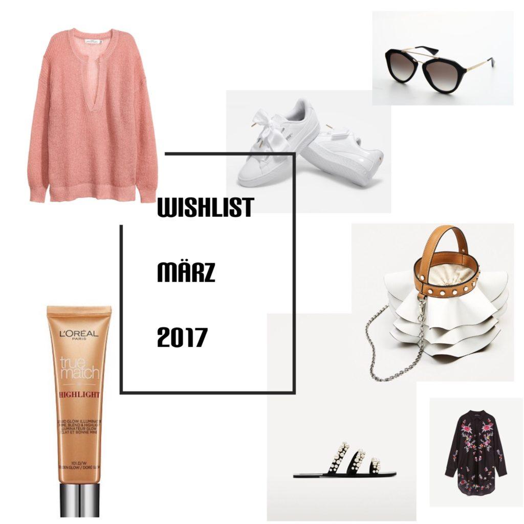 Wishlist x März 2017