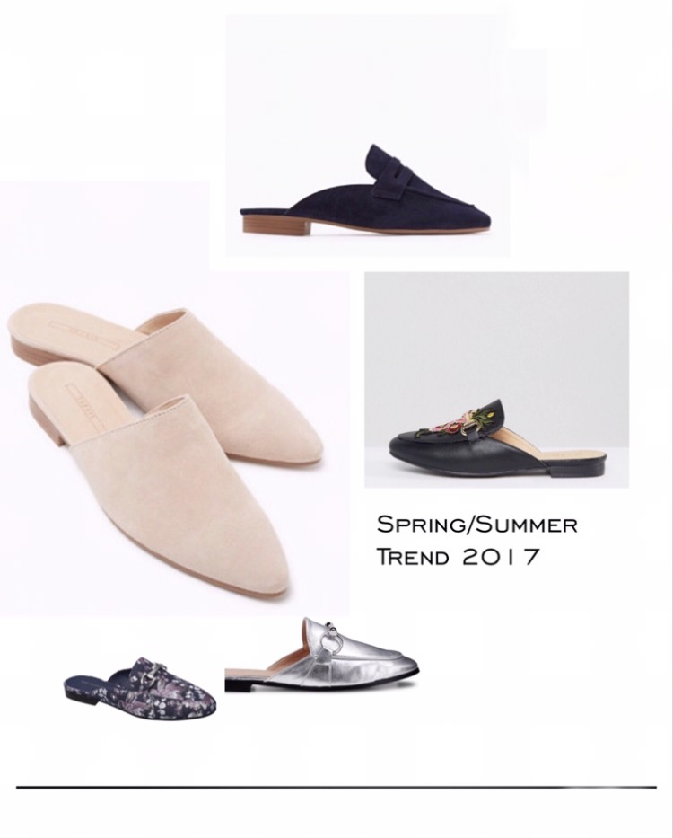 Spring/Summer Shoe Trend 2017 – Slippers!