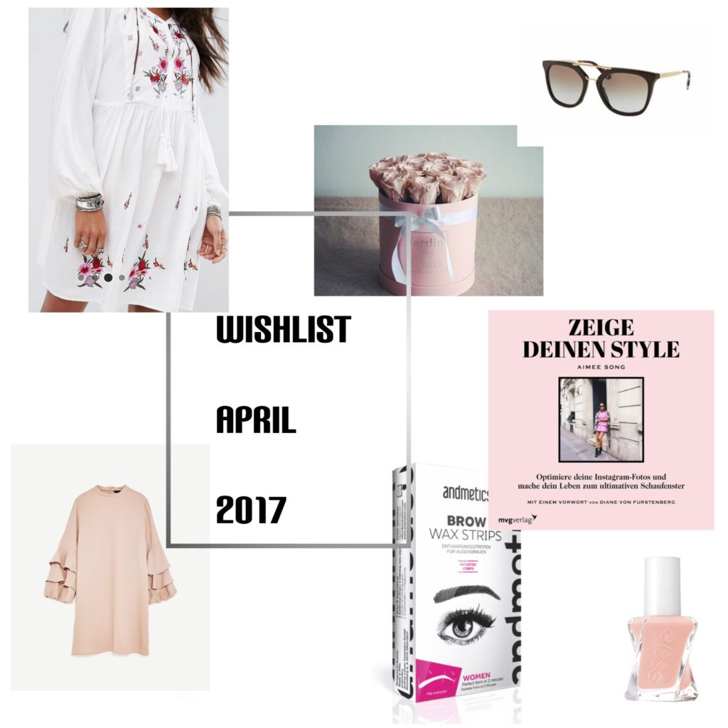 Wishlist x April 2017
