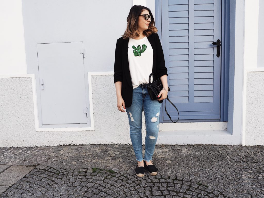 #Outfit: Casual with Cactus