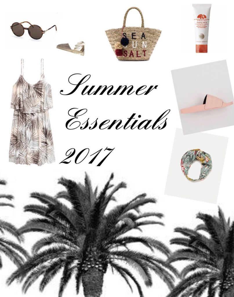 Summer Essentials – Meine Must-Have Teile für den Sommer 2017