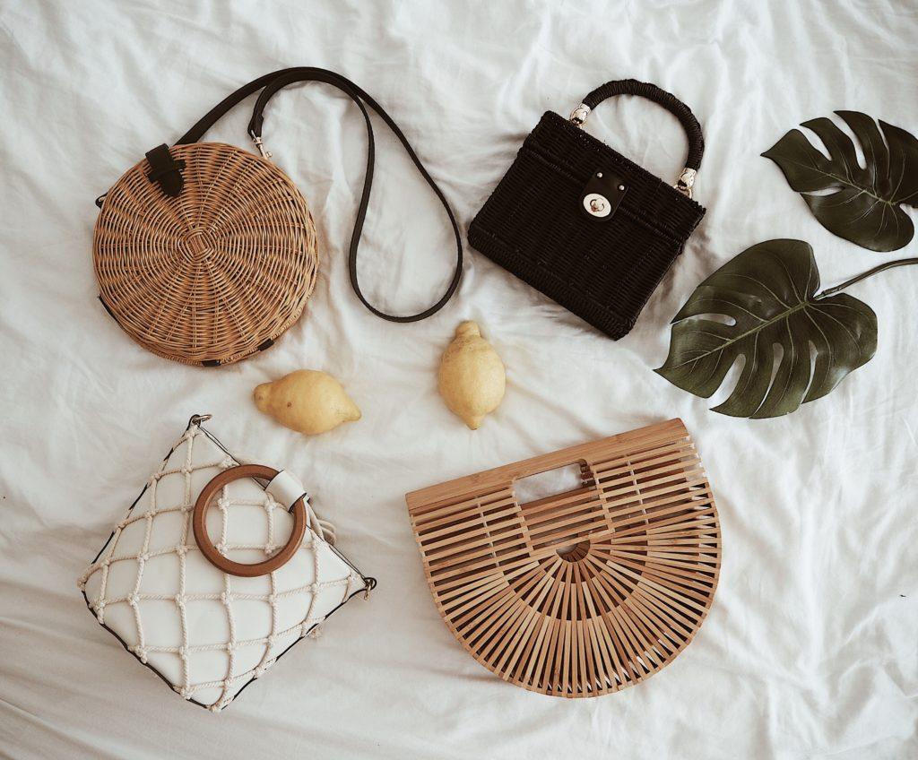 Die schönsten Sommertaschen aus Bambus, Stroh und Netz!