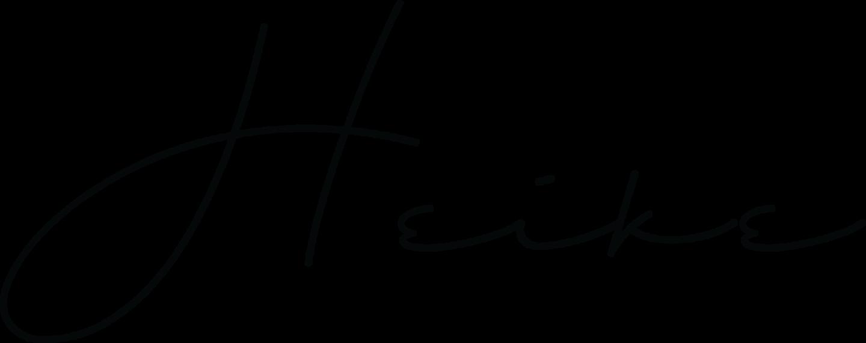 Schriftzug Heike