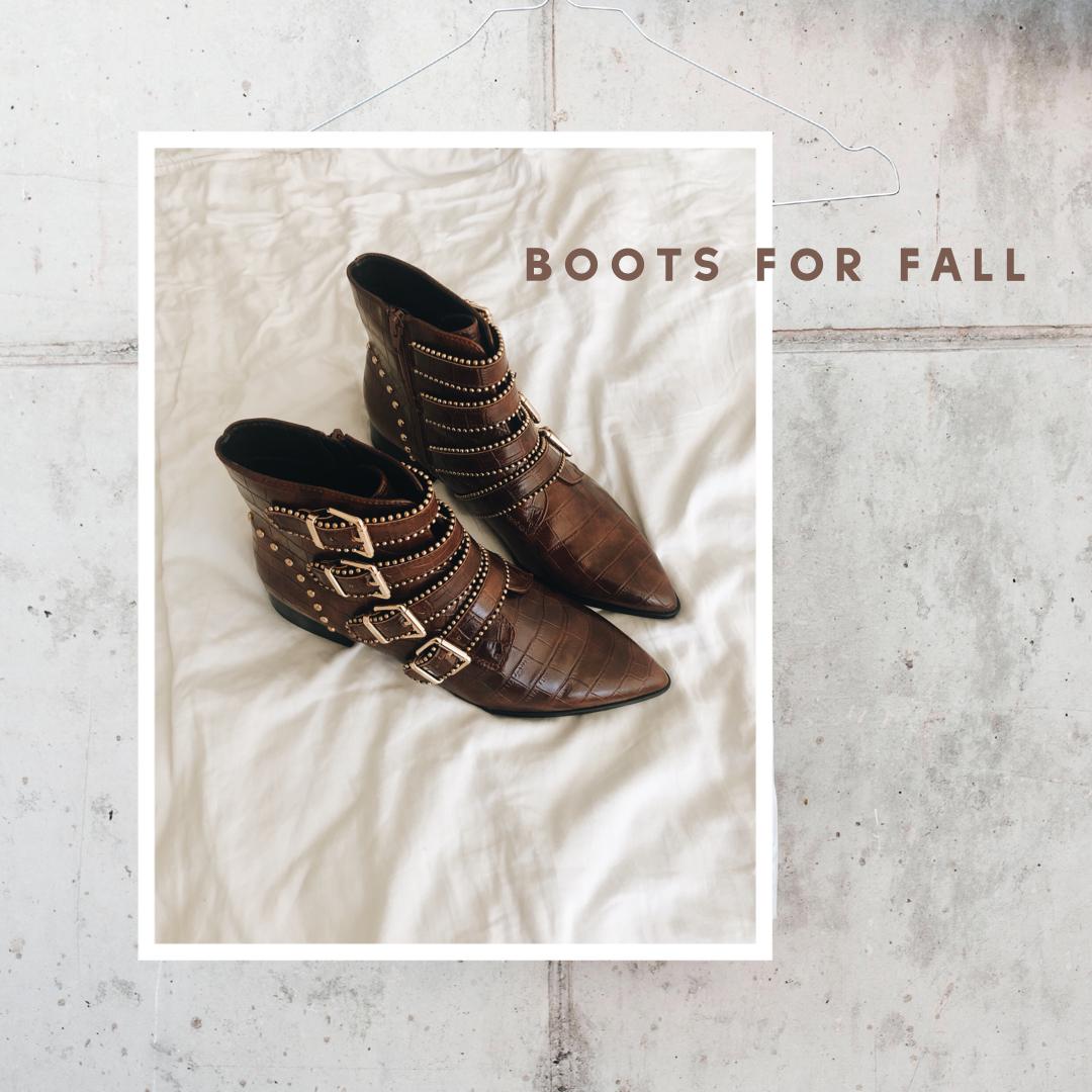 Boots for Fall – Die schönsten Modelle