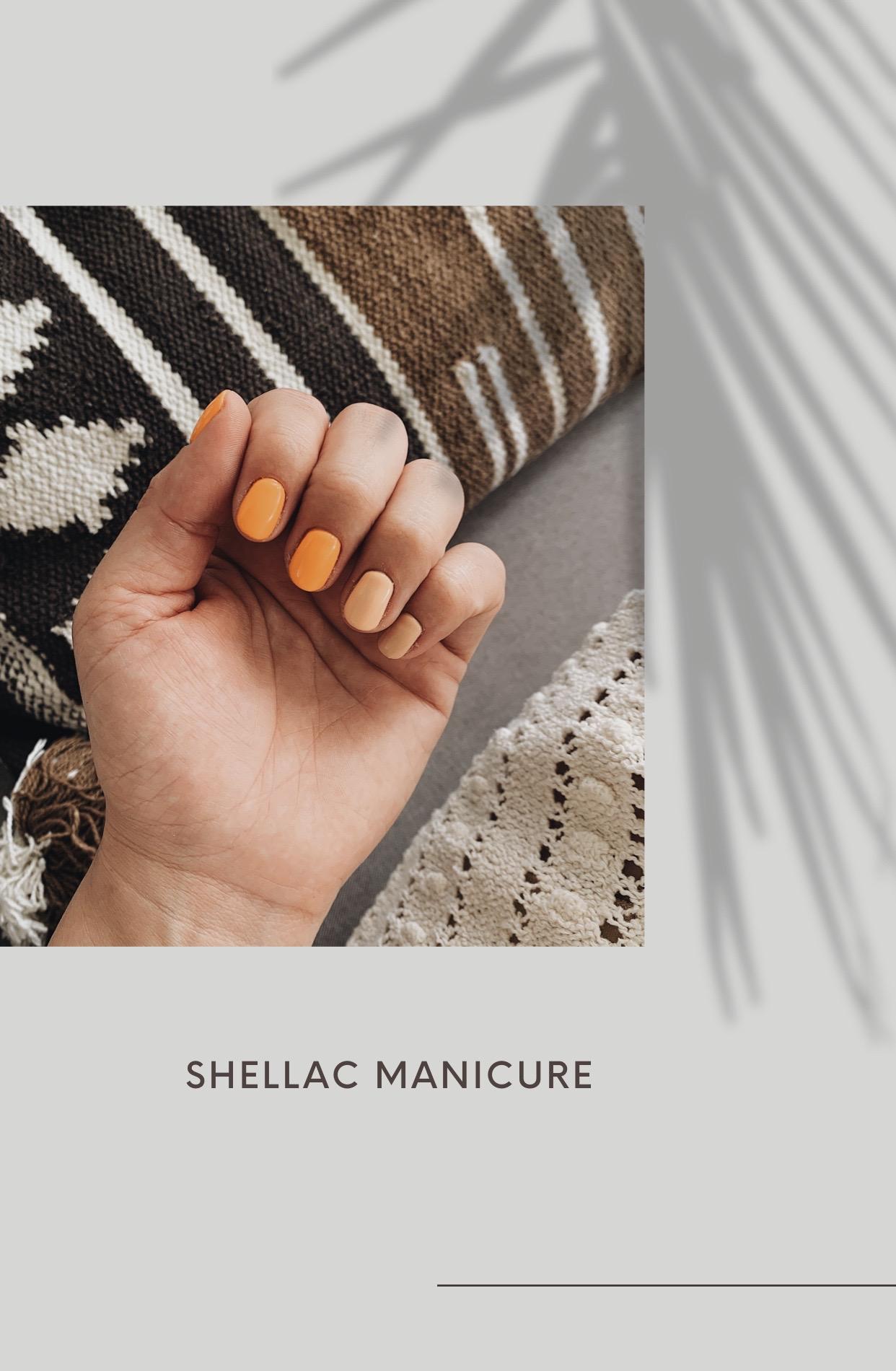 shellac baby! Die perfekte Maniküre für Zuhause