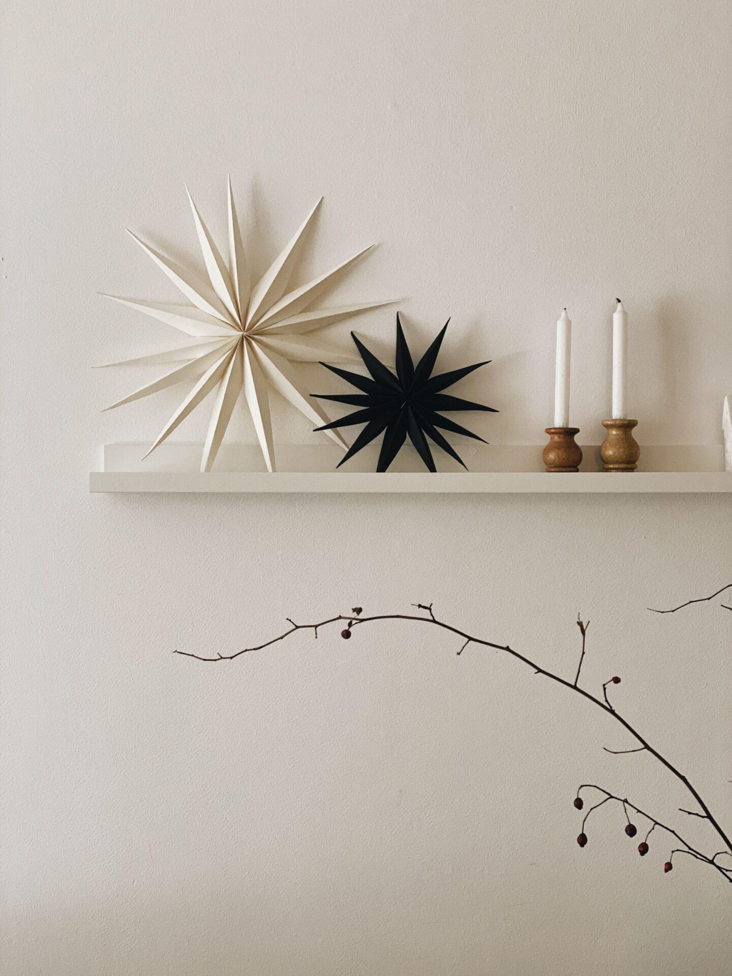 DIY: Skandinavischer Papierstern